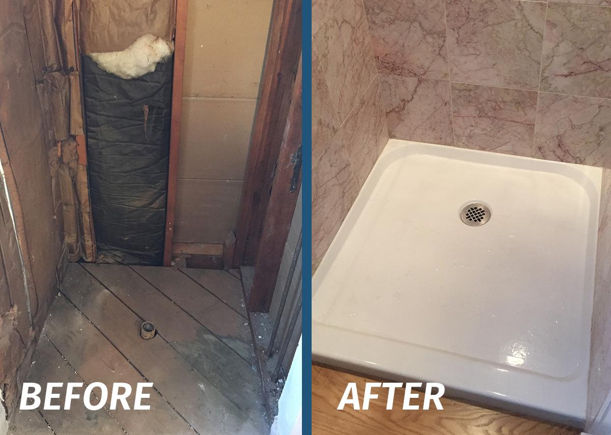 Bathroom remodeling avon plumbing heating for Bathroom remodel plumbing